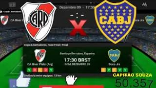 River Plate 3x1 Boca Juniors  FINAL Copa Libertadores 09/12/2018