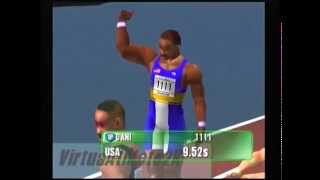 Virtua Athlete 2k (Dreamcast) - 100m - 9.52s