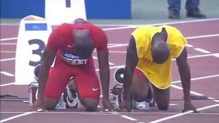 Men's 100m T11 | Round 1 H1 |  2015 IPC Athletics World Championships Doha