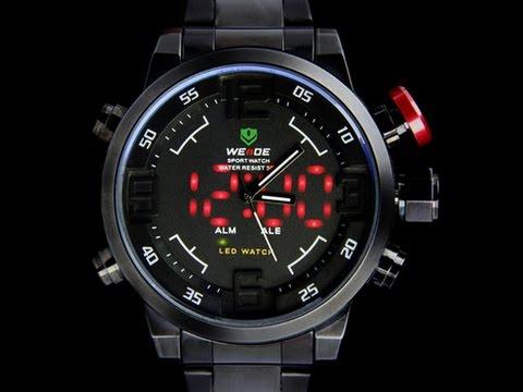 инструкция к часам Weide Sport Watch - фото 9