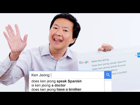Ken Jeong Answers the Web's Most Searched Questions | WIRED