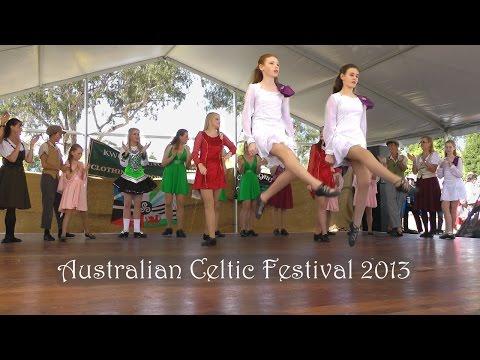 Cape Byron Celtic Dancers at the 2013 Australian Celtic Festival