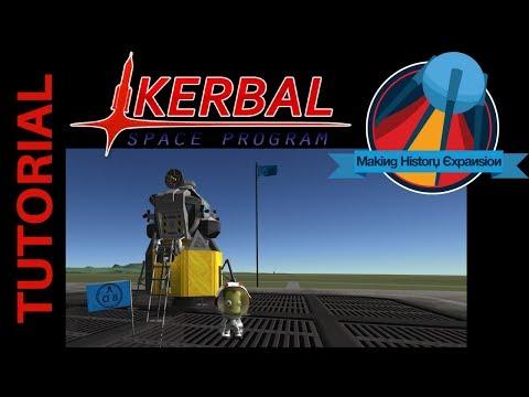 Kerbal Space Program Tutorial: How to Build the LEM/MEM Mun Lander with Making History