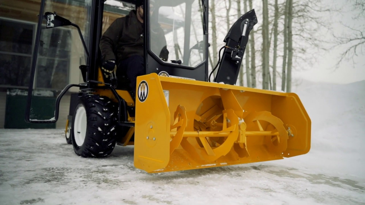 50 Inch Two Stage Snowblower Implement Model H Youtube