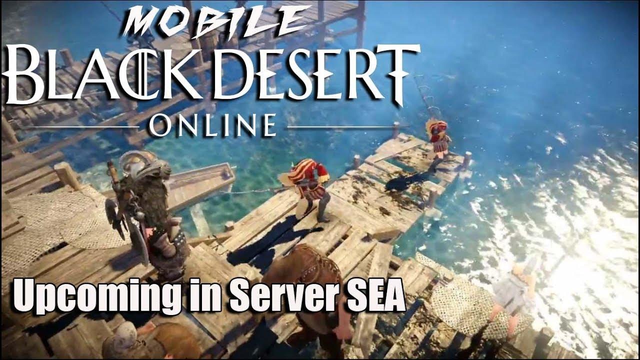 Black Desert Mobile Sea Release Date