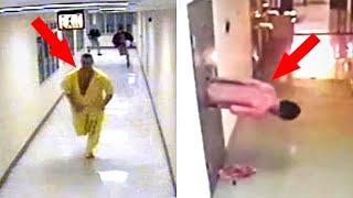 أغرب 10 عمليات هروب من السجن إلتقطتها كاميرات المراقبة