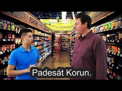 Học tiếng Séc qua VIDEO (Cách 4. Đối cách)
