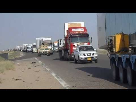 CONVOY BASRA TO BAGHDAD ADELTE PBB'S