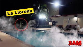 (THE CURSE OF La Llorona) DONT READ EL JUEGO DE LA LLORONA AT 3AM | LA LLORONA APPEARED IN REAL LIFE