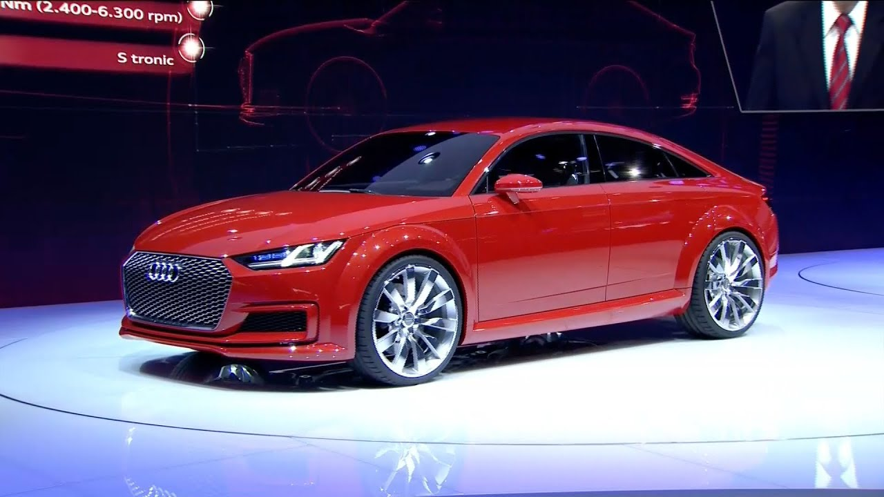 ▻ audi tt sportback concept - world premiere - youtube