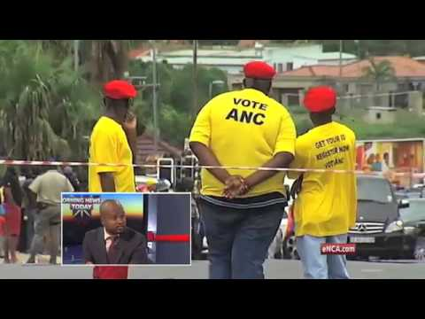 Is it looking good for the ANC?