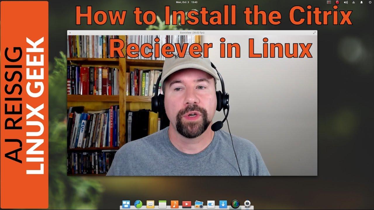 install citrix receiver ubuntu 17.10