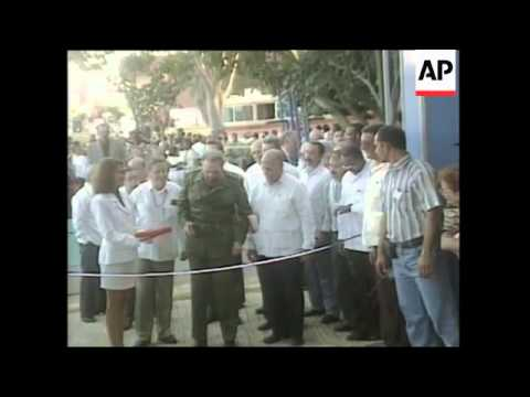 CUBA: HAVANA: CASTRO OPENS INTERNATIONAL TRADE FAIR