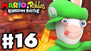 Mario + Rabbids Kingdom Battle - Gameplay Walkthrough Part 16 - Vamp with Rabbid Luigi!