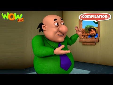 Doctor Jhatka inventions - Motu Patlu Compilation - Part 07 - As seen on Nickelodeon thumbnail