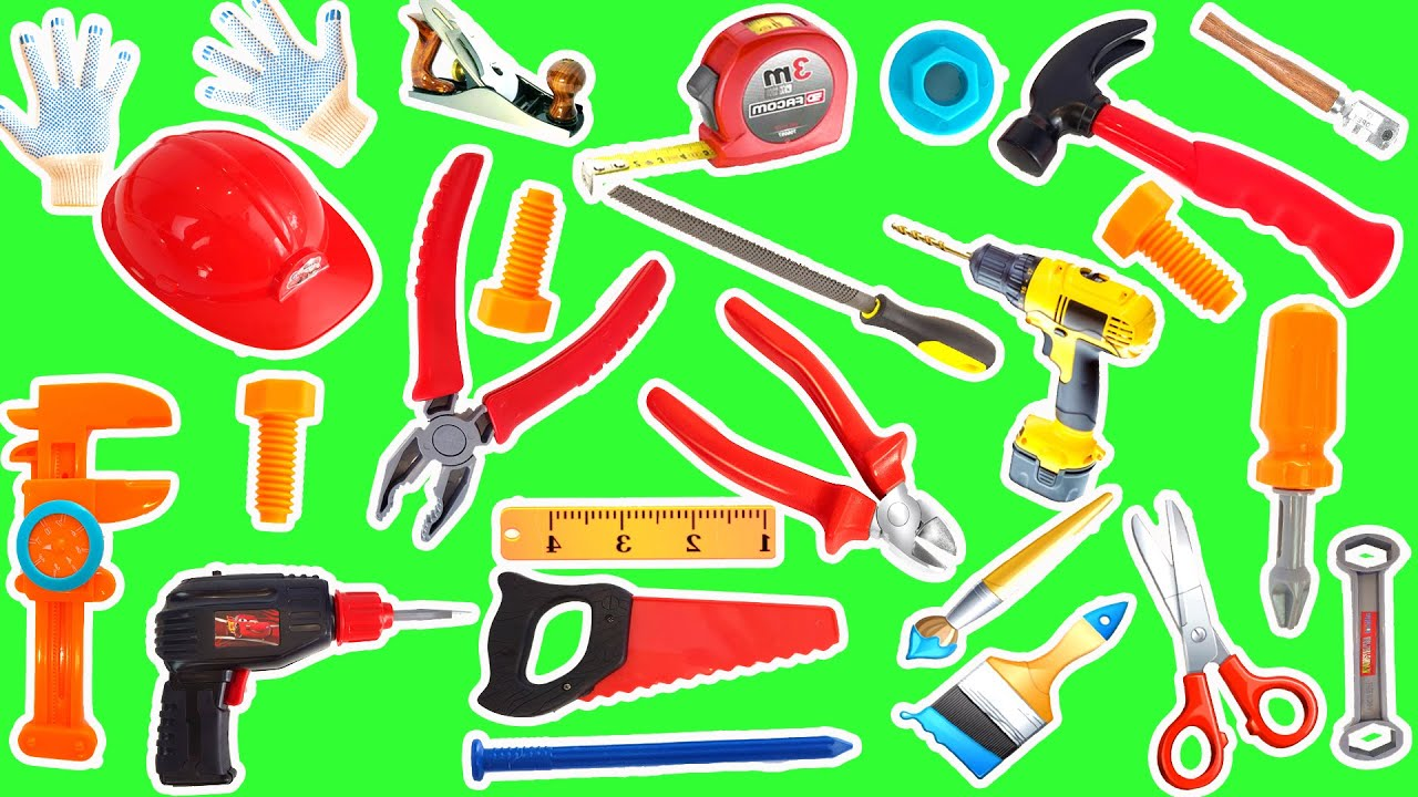 hand tool names. learn hand tools names | educational video for kids in english with real hand tool