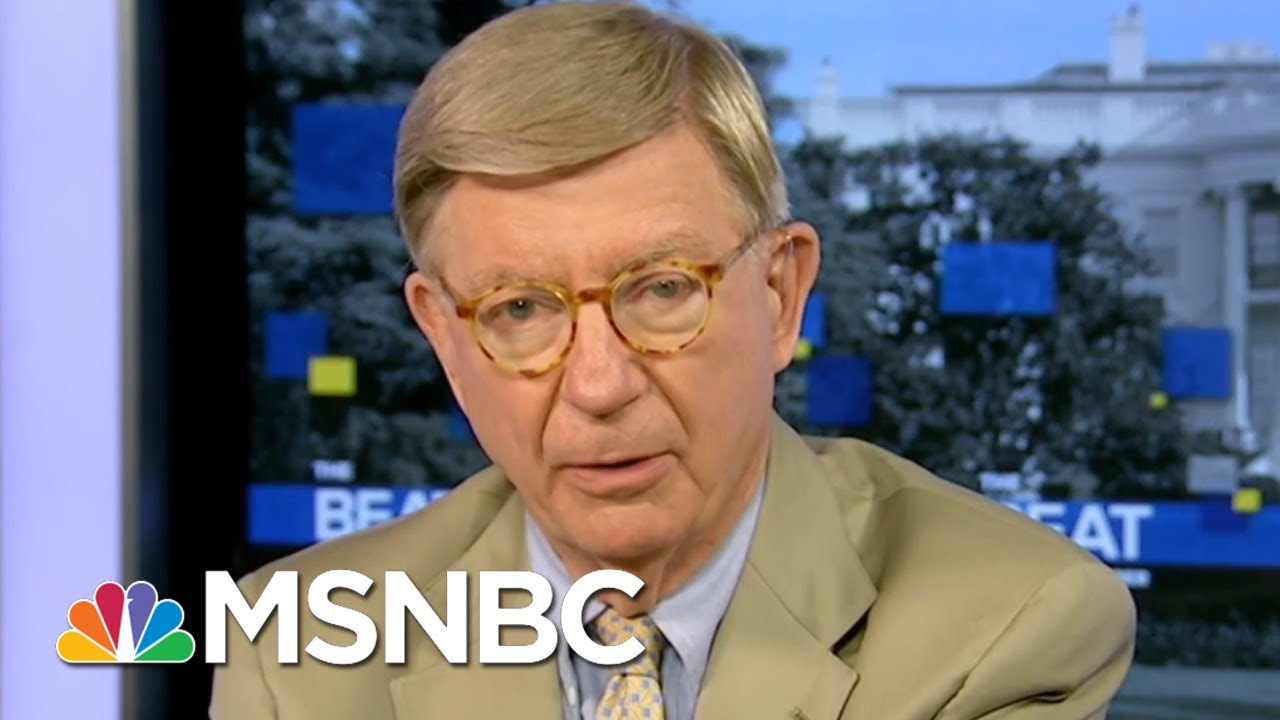 Conservative George Will: Trump Is 'Syntactically Challenged' | The Beat With Ari Melber | MSNBC