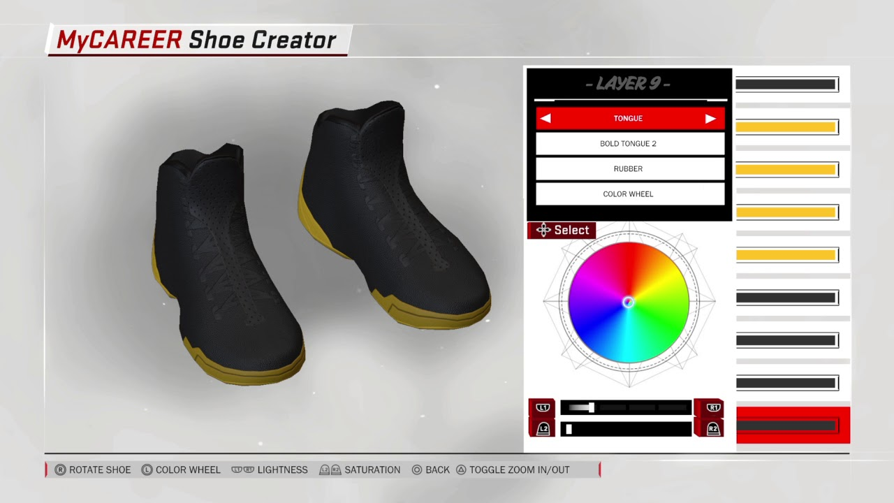CREATING MY SIGNATURE SHOE IN NBA 2k18!!!