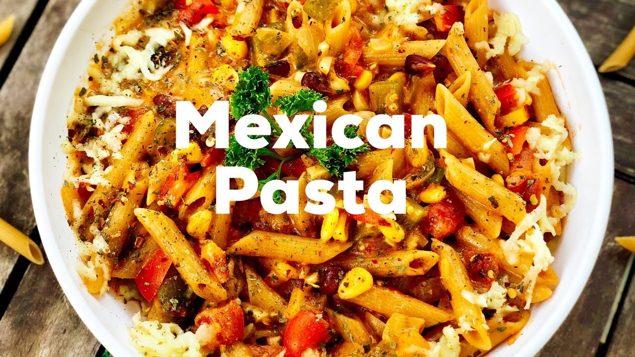 Recipes Mexican How To Make Pasta Mexicana