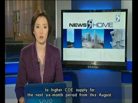 Singapore Channel 5 News 9.30PM @ 04-05-2012