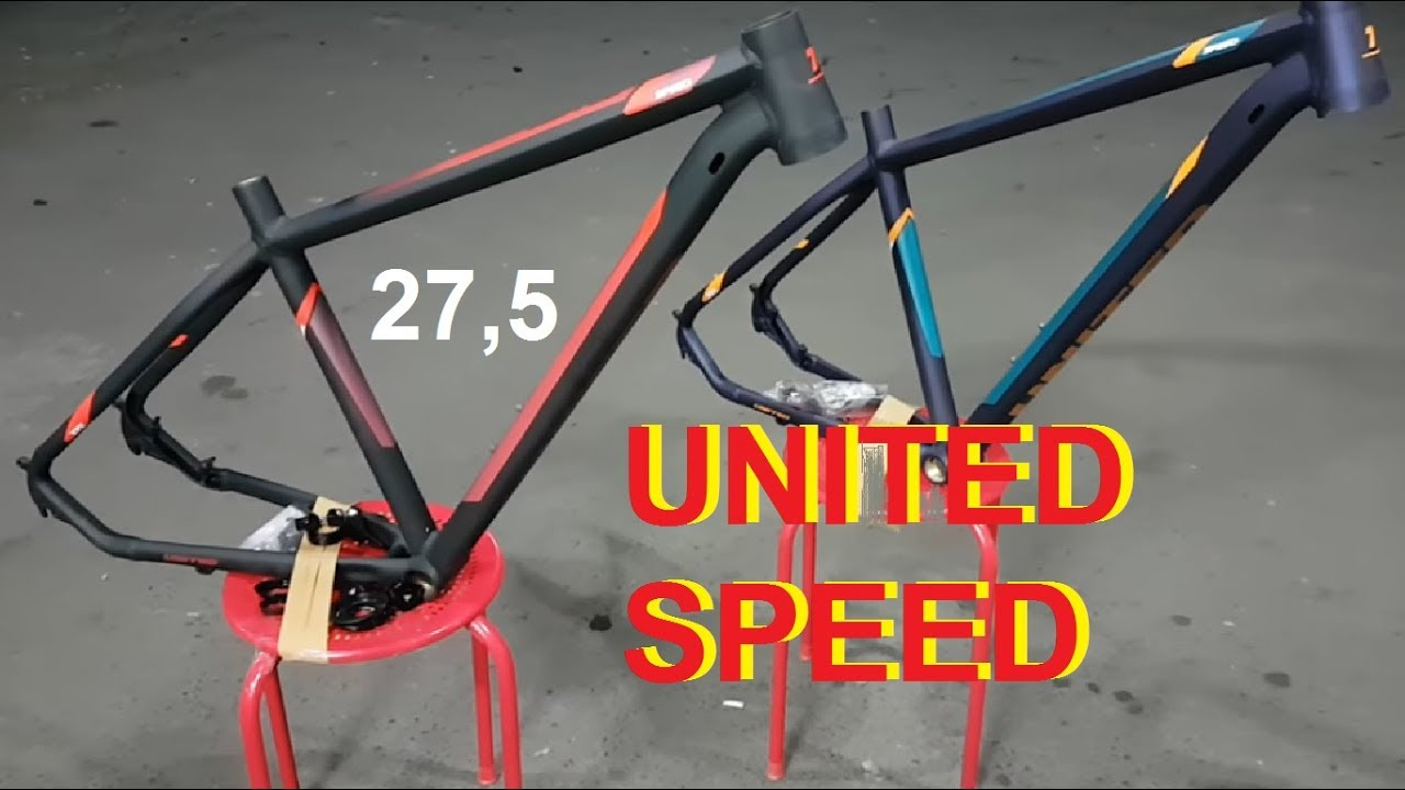 f3a8f0e57e Frame United Speed 27.5 Taper Alloy - YouTube