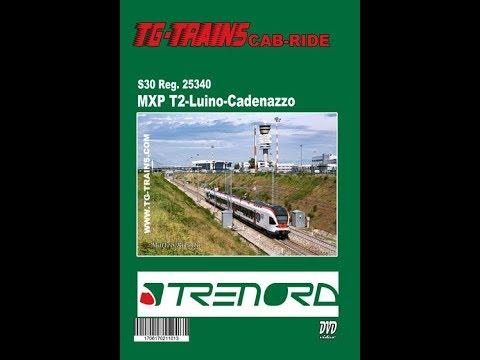 Malpensa Aeroporto Terminal 2-Luino-Cadenazzo, Cab-ride ETR 150 FLIRT TILO