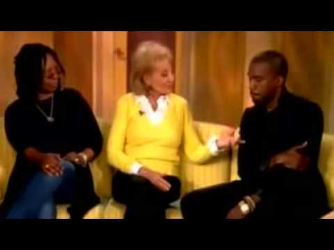KANYE WEST The View FULL Interview HQ June 10th 2009 Paranoid Heartless Lady Gaga Tour
