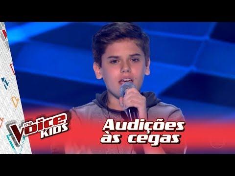 João Henrique canta 'Que Sorte a Nossa' na Audição – 'The Voice Kids Brasil' | 3ª Temporada