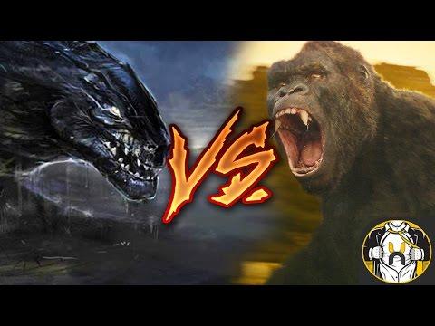 Godzilla Jr 1998 vs Kong 2017 - Who Wins?