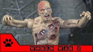 World war Z / Война миров Z: фигурка зомби от Jazwares