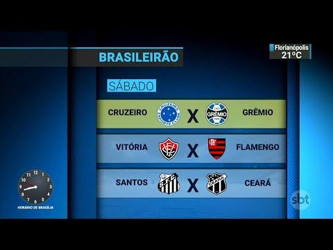 Brasileirão começa neste sábado com clássico entre Cruzeiro e Grêmio | SBT Brasil (13/04/18)