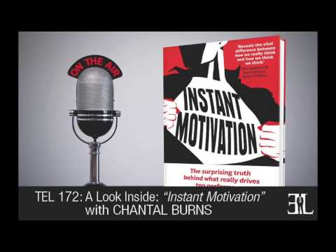 Instant Motivation by Chantal Burns TEL 172