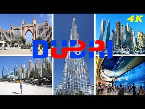 DUBAI - UNITED ARAB EMIRATES 4K 2018 BEST OF DUBAI