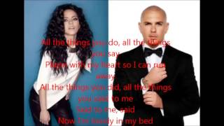 All The Things You do Inna ft Pitbull(lyrics) ingles mp3