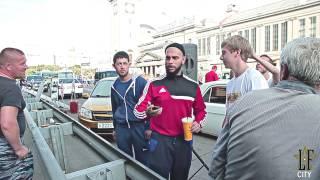 """LF City. Тимати и Вера Брежнева. Съемка клипа """"Это понты."""""""