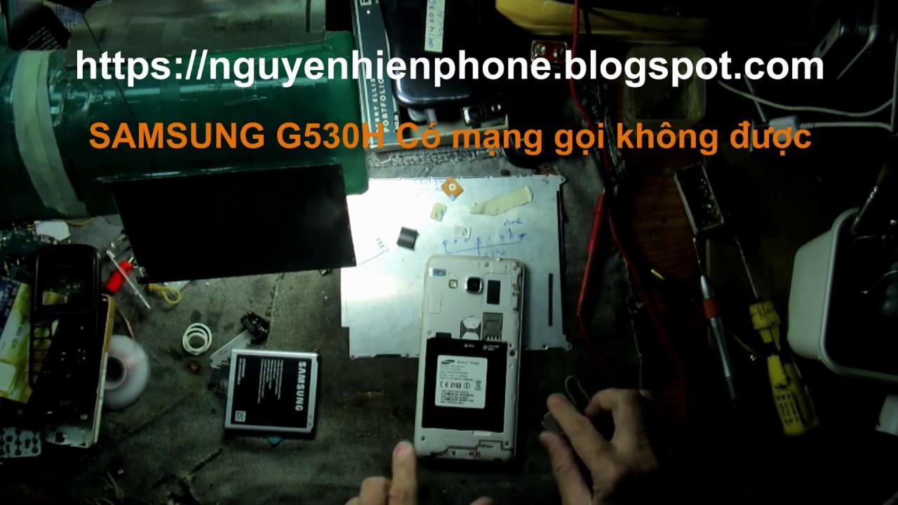 Sửa SAMSUNG G530H fake bị mất sóng