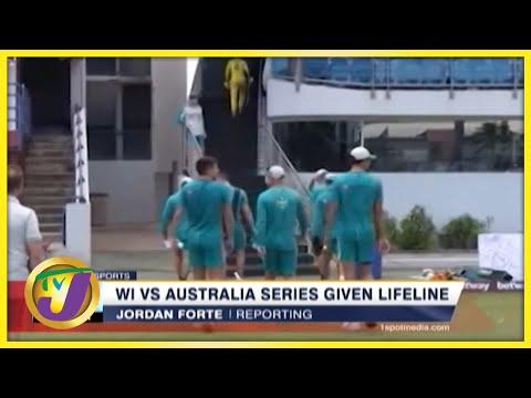 Windies vs Australia Series Given Lifeline - July 23 2021