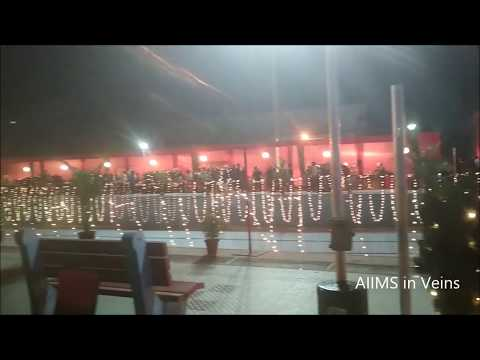 Grand Party at AIIMS Delhi : Gloriously decorated Poolside