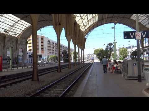 Nice, France - Gare de Nice-Ville Station HD (2015)