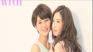 2014年with8月号の表紙に登場したのは、withモデルの鈴木ちなみ&宮田聡...