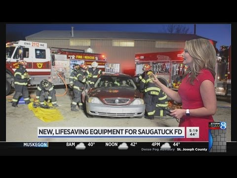 Saugatuck Twp. firefighters get grant for life-saving tool