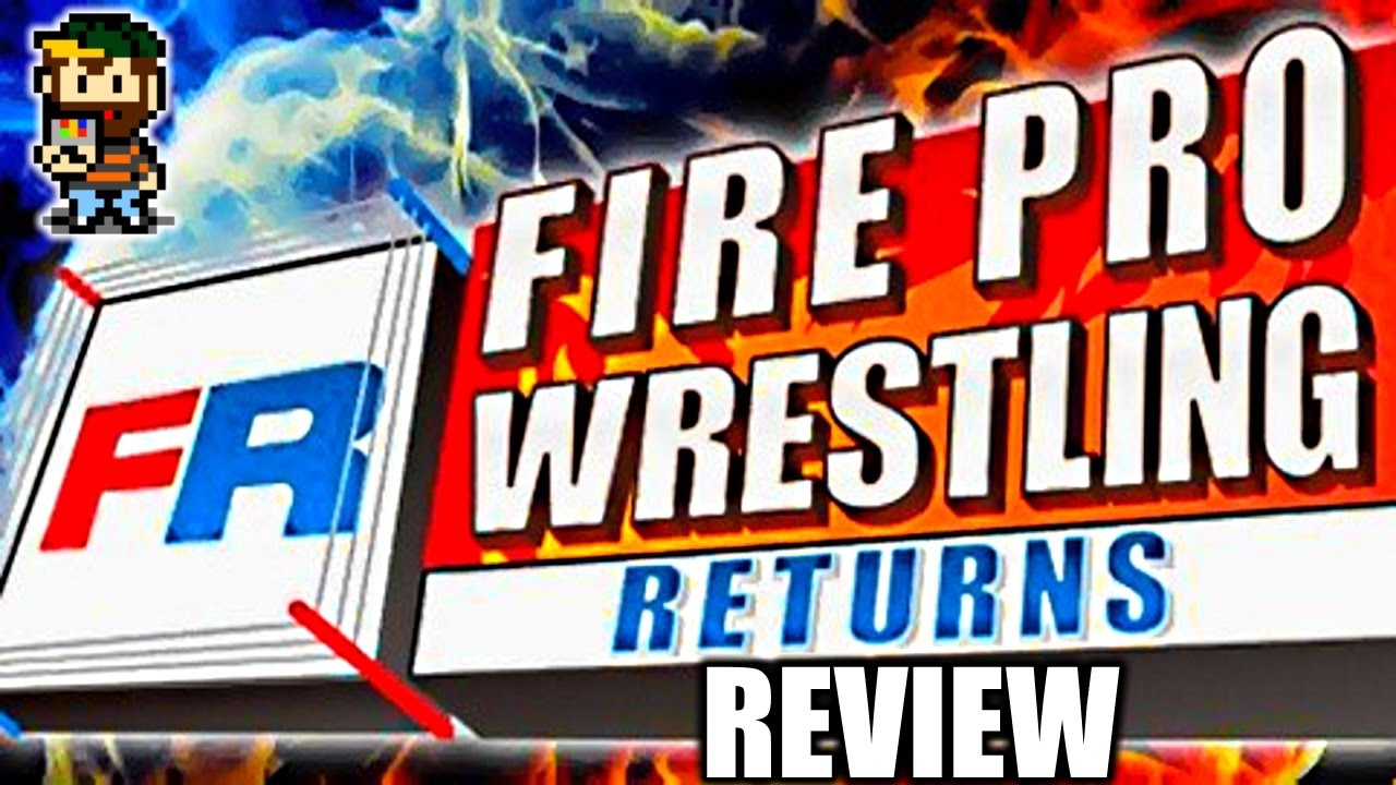 Image result for Game Review - Fire Pro Wrestling Returns