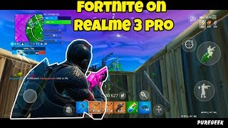 Fortnite on Realme 3 Pro (Screen Recording)