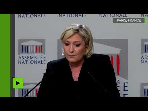 Marine Le Pen critique la politique sécuritaire du gouvernement