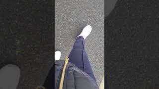 sweaty socks in trainers