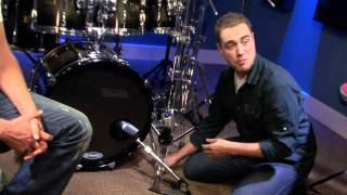 How To Mic Your Bass Drum - Free Drum Lessons(FREE Series: De-Stupefying Your Weak Hand - http://drumeo.com/destupefy . Learn how to mic a bass drum in this video drum lesson. . View this lesson at: ..., 2012-02-03T16:47:27.000Z)