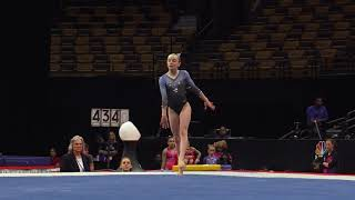 Sophia Butler – Floor Exercise – 2018 U.S. Gymnastics Championships – Junior Women Day 1