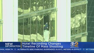 Hotel Recording Changes Timeline Of Mass Shooting
