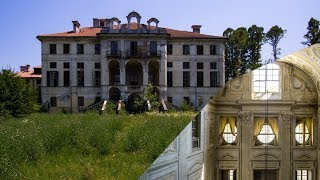 Abandoned 1700s Mansion with grand hall / Urbex Lost Places Europe