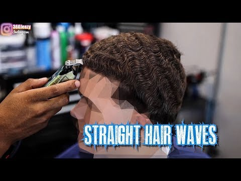 HAIRCUT TUTORIAL: AMAZING STRAIGHT HAIR 360 WAVER TAPER
